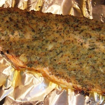 Roasted Trout
