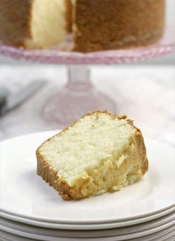 Cream Cheese Pound Cake with Baking Tips