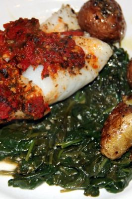 Baked Fish with Fennel and Tomatoes