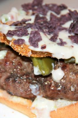 Bobby Flay's Sante Fe Burger with a Twist