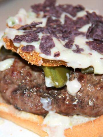 Bobby Flay's Santa Fe Burger
