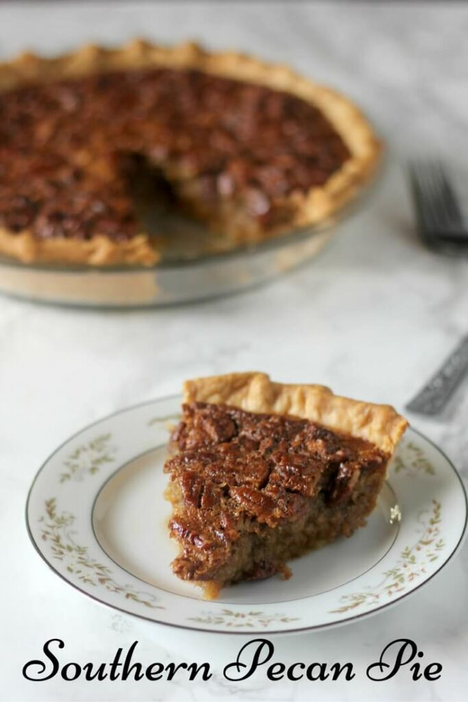 This Southern Pecan Pie recipe is a classic but swaps old-fashioned cane syrup for some of the corn syrup. The result is intense and delicious flavor, not just overwhelming sweetness!