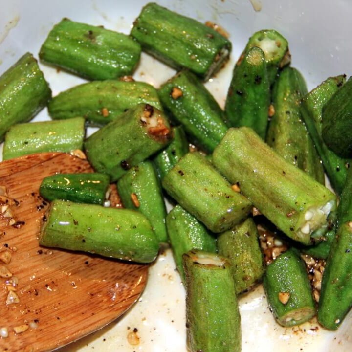 Honey Cumin Okra