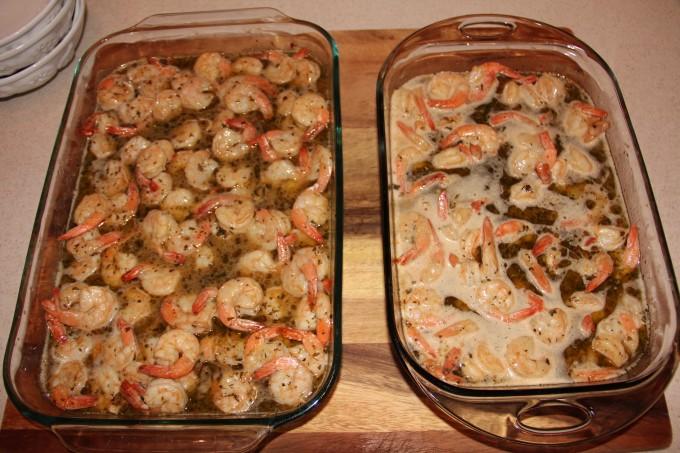 Finished French Quarter Shrimp