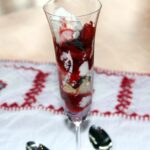 Raspberry and Strawberry Trifle