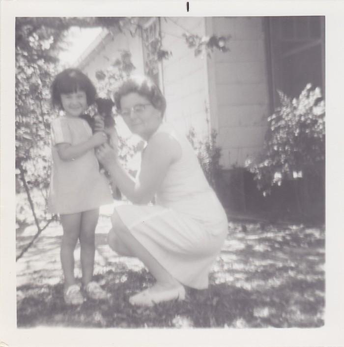 Granny and me, circa 1972 or '73.