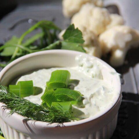 Creamy Green Herb Dip