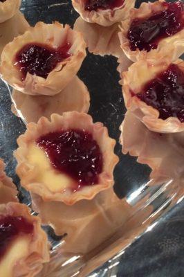 Raspberry Brie Appetizer Tartlets