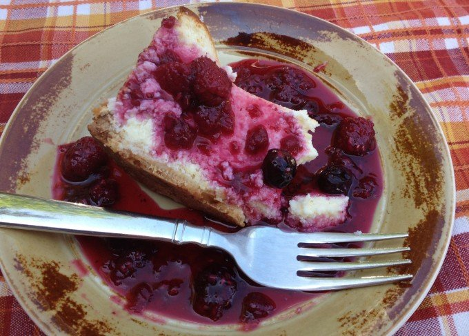 Raspberry sauce made with fresh raspberries goes great over cheesecake, pound cake, or almost any dessert that needs a finish!