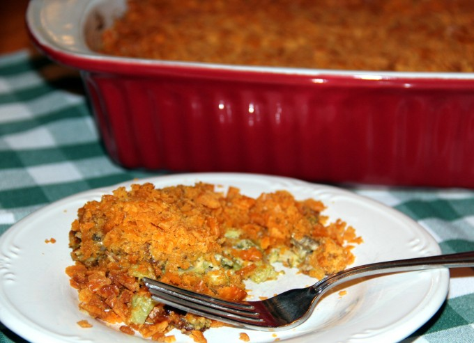 The Best Broccoli and Cheese Casserole with Bacon