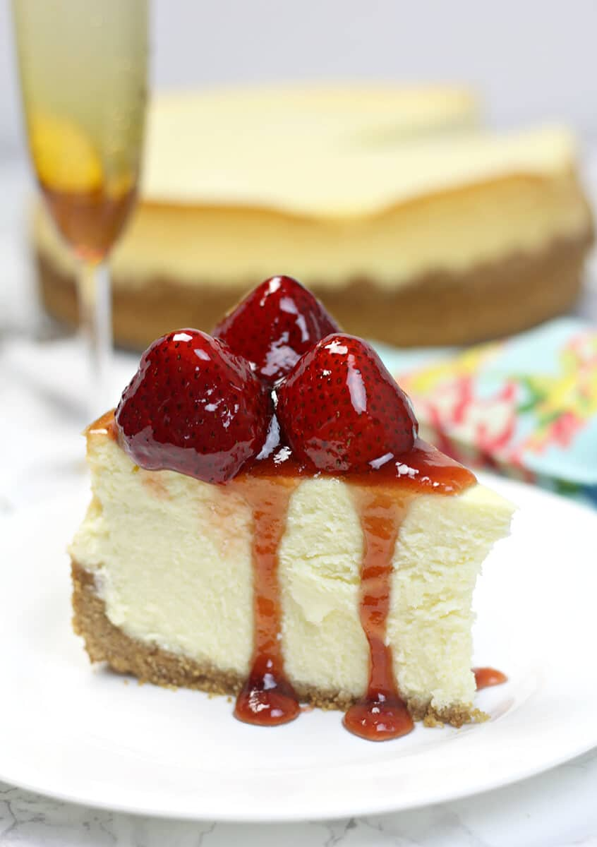 Classic Cheesecake Recipe In A Southern Kitchen