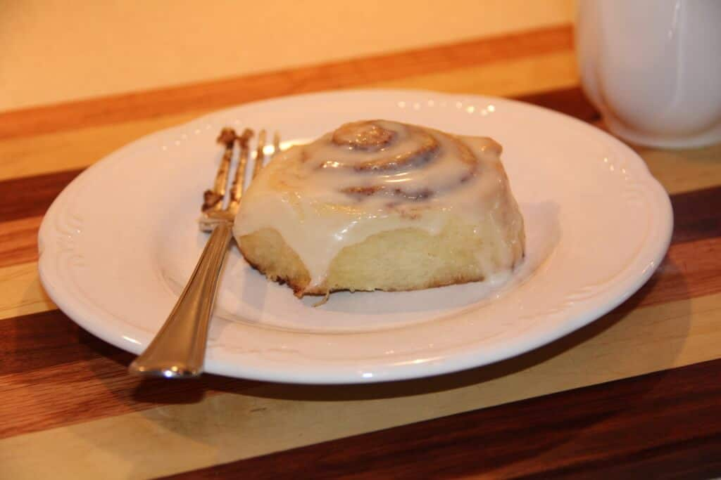 These easy homemade cinnamon rolls can be made ahead of time to keep breakfast easy and delicious!