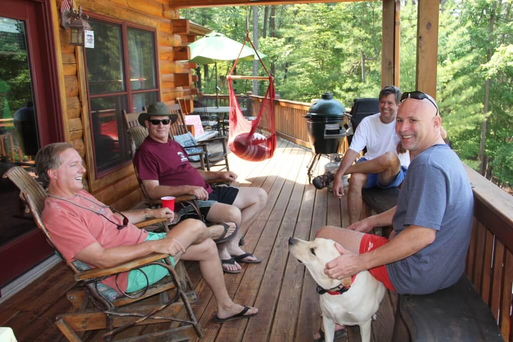 At Lake Blue Ridge
