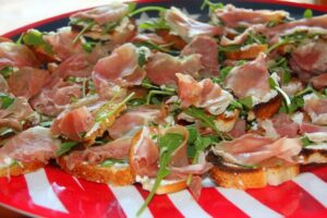Prosciutto Appetizer—Easy and Last Minute!