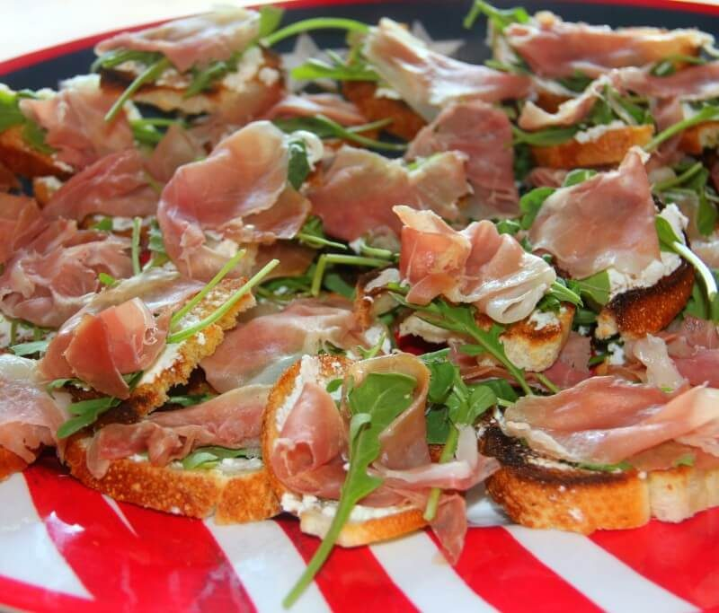 Prosciutto Appetizer—Easy and Last Minute!