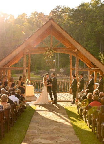 Rustic Southern Wedding: The Ceremony
