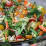Farro and Vegetable Salad