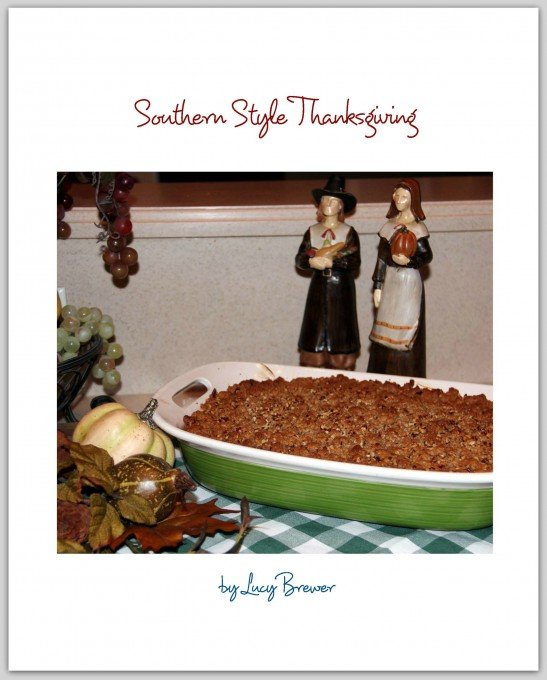 Thanksgiving Cookbook Cover : Southern thanksgiving cookbook