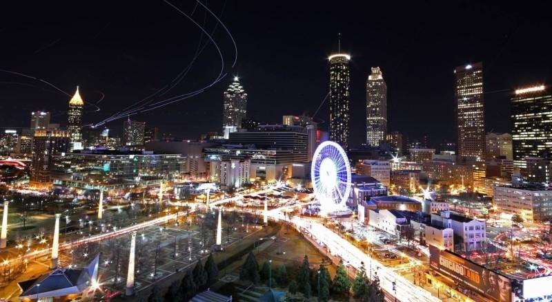 Skyline photo of Skyview Atlanta.