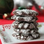 Chocolate Crinkles are Fun and Festive