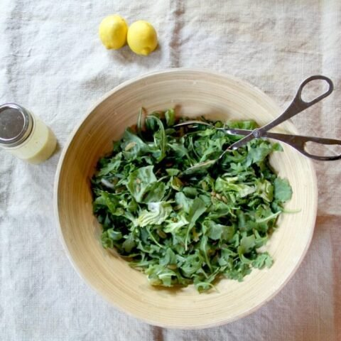 Green Salad with Arugula and Fresh Herbs