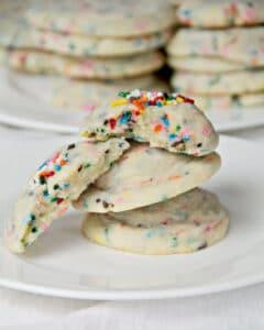 How to Make Soft Funfetti Sugar Cookies