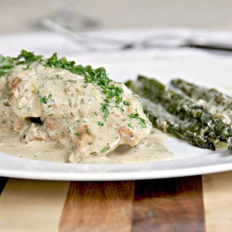 Mustard Cream Sauce with Chicken