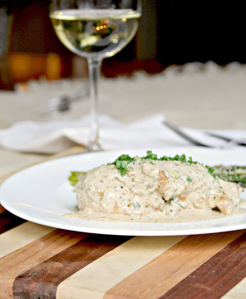 Mustard Cream Sauce is a classic French pan sauce that's simple to prepare and adds a tangy sizzle to any meat!