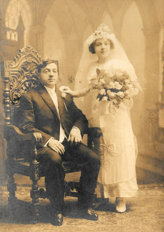 Gaetano and Tessie DeLaura 1913