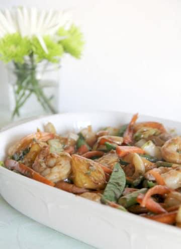 Shrimp and Pineapple Stir-fry