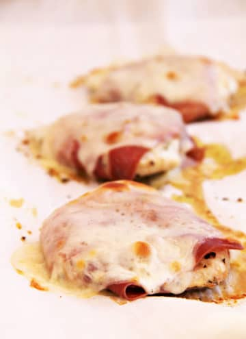 Quick and Easy Chicken with Prosciutto
