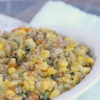 Quinoa Salad with Corn and Peppers