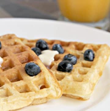 Classic Malted Buttermilk Waffle Recipe