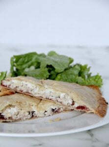 Leftover Turkey Hand Pies with Cranberry and Boursin