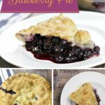 Homemade Blueberry Pie made with fresh blueberries is a classic, favorite summer dessert!