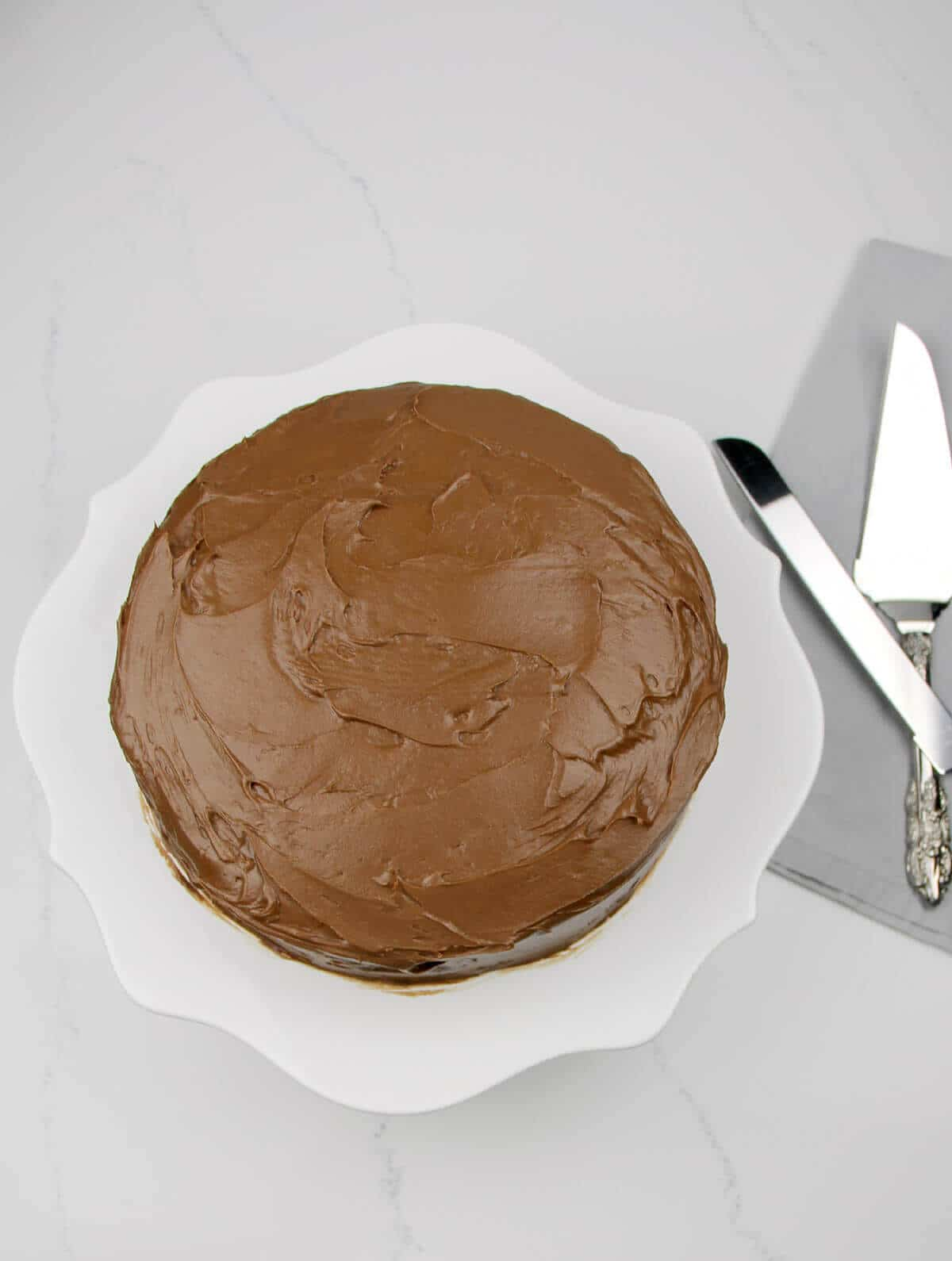 Best Chocolate Cake - Hershey's Devil's Food Cake