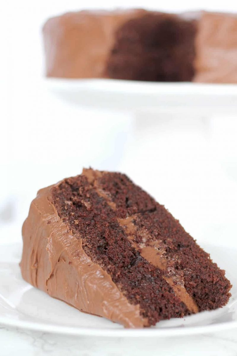 Best Chocolate Cake – Hershey's Devil's Food Cake
