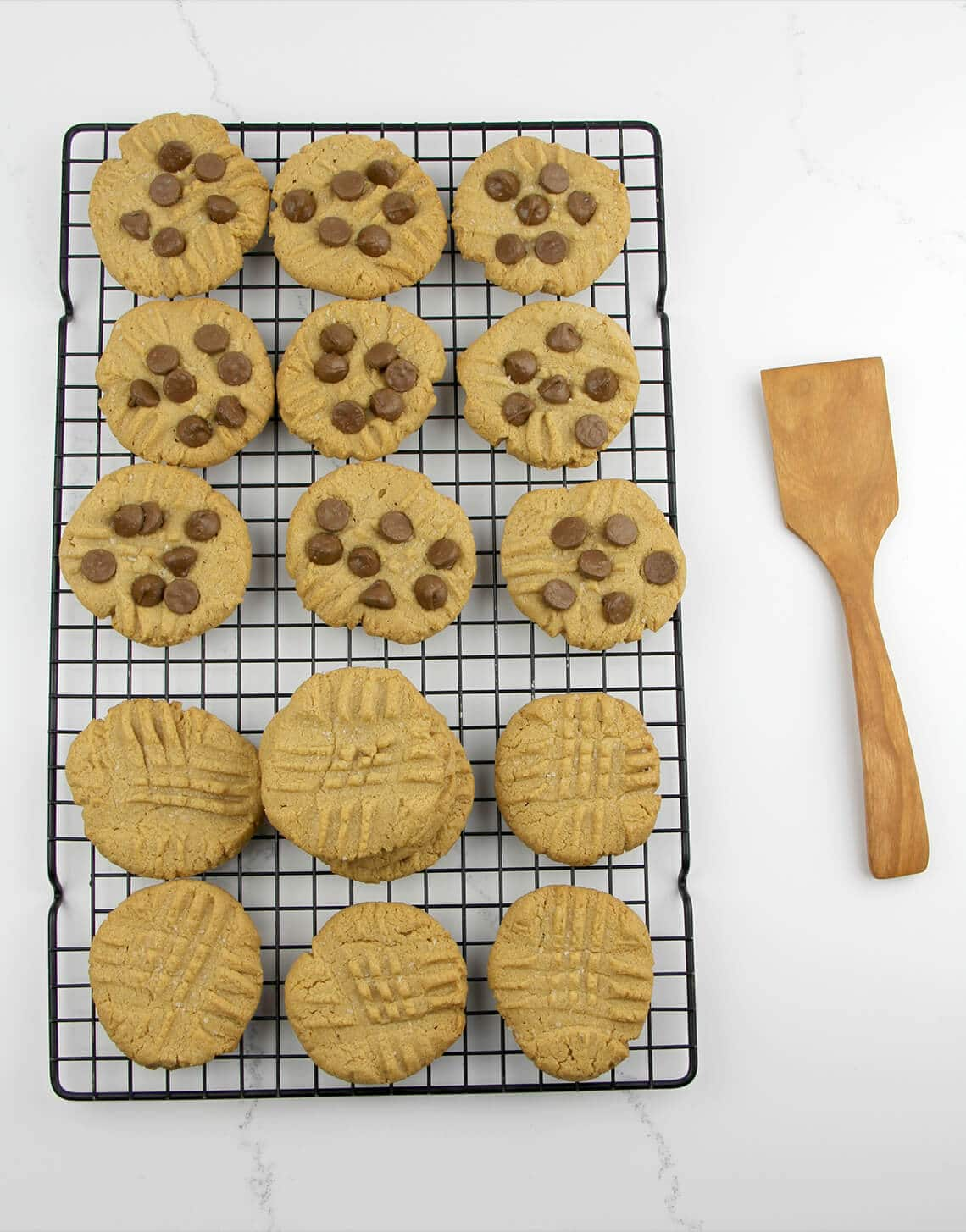 Three Ingredient Peanut Butter Cookies, also known as flourless peanut butter cookies, are gluten-free, dairy-free, and really tasty!