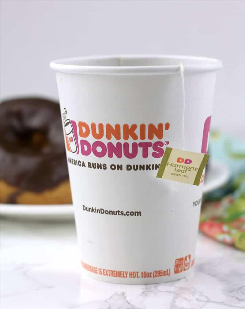 Dunkin Donuts premium hot tea
