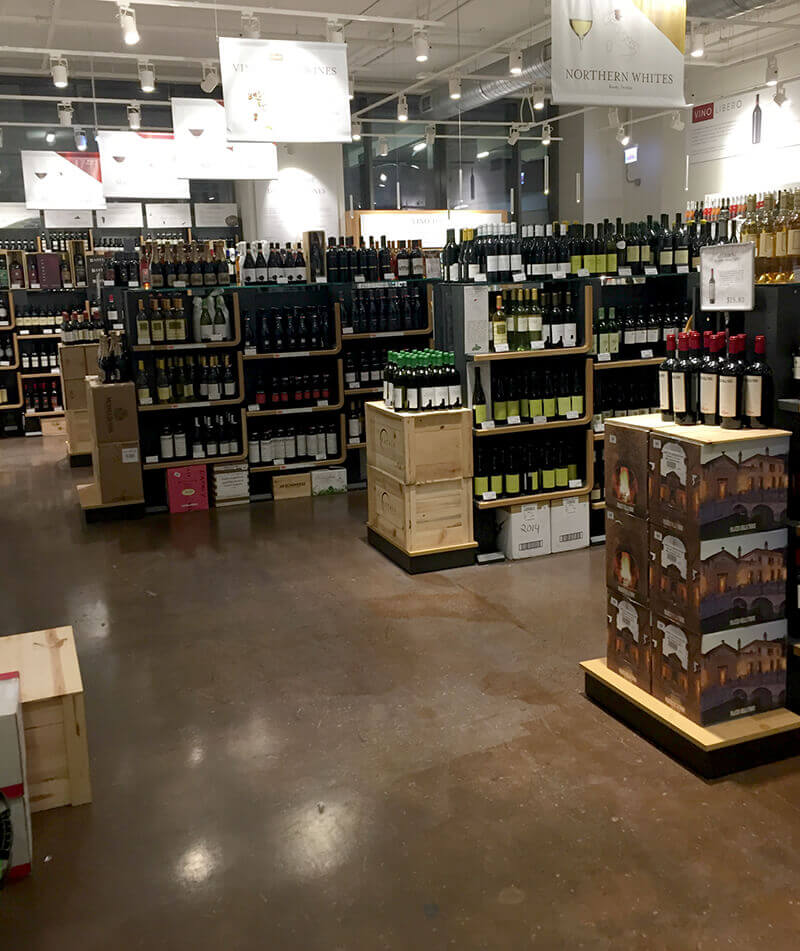 Chicago Food Guide featuring wines in Eataly