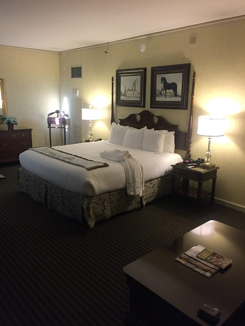 Kentucky Travel Guide showing Room at the Brown Hotel.