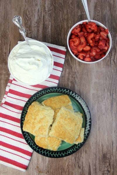 Homemade whipped cream in a bowl.