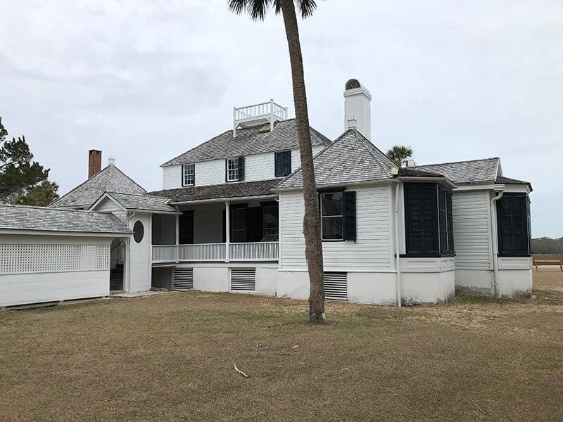 The house at Kingsley Plantation near Amelia Island.