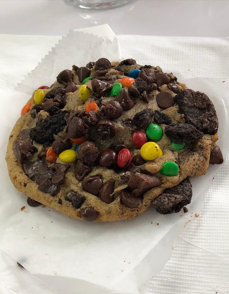 Cookie from Nana Teresa's bake shop.