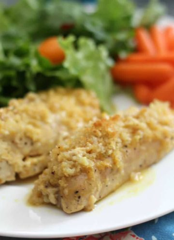 Baked Honey Mustard Chicken – Easy, Crispy, and Kid-Friendly!