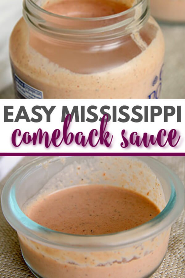 Comeback Sauce made a little spicier with hot sauce and cayenne--it's the perfect easy dipping sauce for anything fried and even cut-up vegetables!