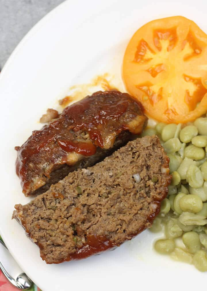 Southern Meatloaf Recipe With Brown Sugar Glaze