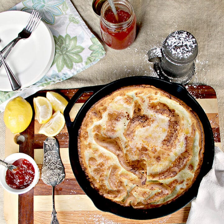 Dutch Baby German Pancake - Quick and Easy!