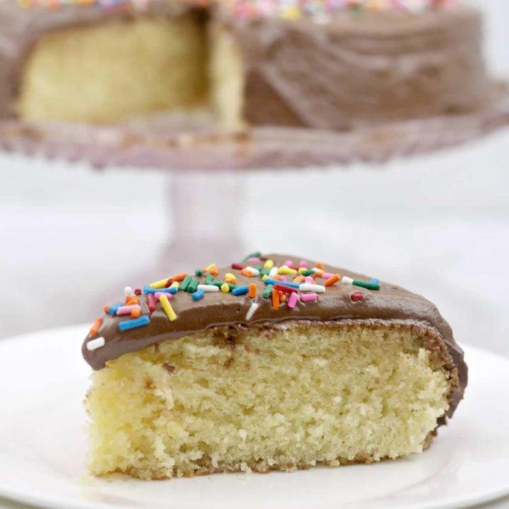 One Layer Cake Recipe