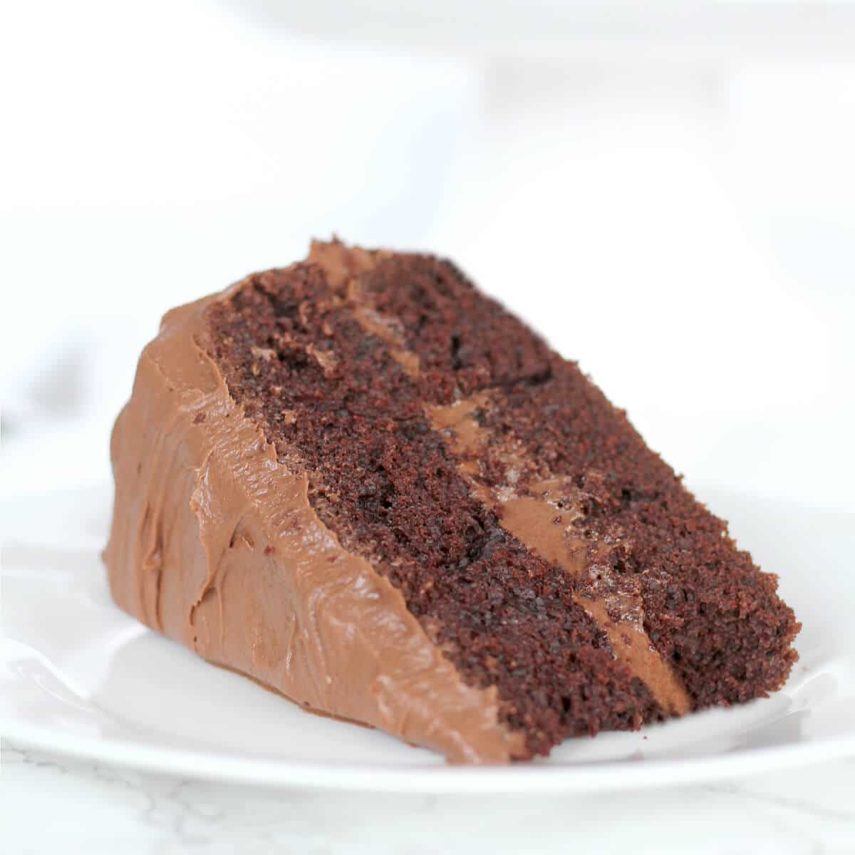 Hershey's Chocolate Cake is absolutely the best chocolate cake there is! Cocoa gives it a rich chocolate flavor and it's never dry!